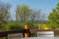 mit Abendsonne. - Bild 6: S04 Fewo mit 2 Schlafräumen, Terrasse, Meerblick im Grün, WLAN, Lohme