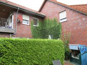 Bild: Luftkurort Werdum: Erdgeschoss-Fewo SMUTJE mit Terrasse und Garten